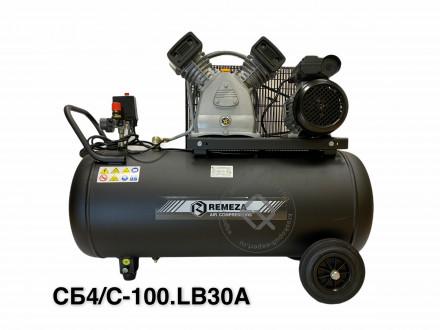 REMEZA СБ4/С-100.LB30A Компрессор поршневой на 100 л 220В