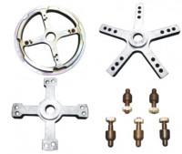 KraftWell UF-T Комплект адаптеров для центровки грузовых колес.