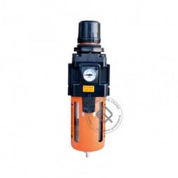 """WiederKraft WDK-7740 Фильтр-масловлагоотделитель с регулятором и манометром 1/2"""" 3000л/мин"""