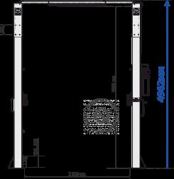 SIVIK ПГА-5000/1 LCV Подъемник двухстоечный 5 т