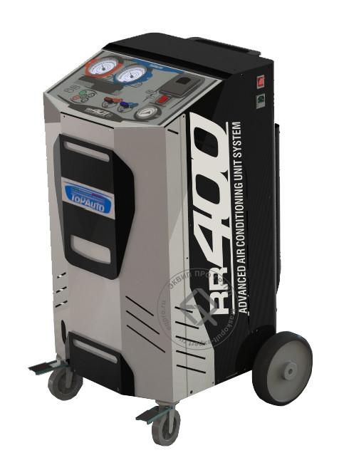 Установка для заправки кондиционеров TopAuto RR400