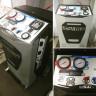 Установка для заправки кондиционеров TopAuto RR400 (живое фото)