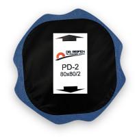 Dr.Reifen PD-2 Пластырь кордовый диагональный (80х80) - 2сл.корда(10шт)