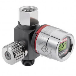 SATA adam 2 U Манометр электронный с регулятором давления на рукоятку