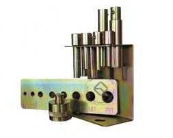 TROMMELBERG SD2025TB Комплект пуансонов с матрицей для прессов SD200824, SD200825, SD200805C, SD200803B