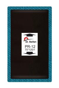Dr.Reifen PR-12 Пластырь кордовый 70*120/1слой корда (10шт.)