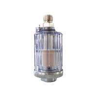 """WiederKraft WDK-65049 Фильтр-масло/влагоотделитель 1/4"""" прозрачный пластиковый корпус"""