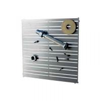 WiederKraft WDK-81012 Магнитная панель для хранения металлического инструмента. Размер поверхности 30х30см