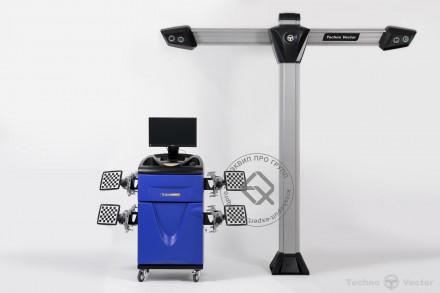 V 7204 TA Техно Вектор 7 Стенд сход-развал 3D
