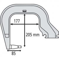 RedHotDot 019157 Плечо С3 для C-образных сварочных клещей