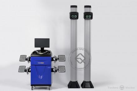 V 7204 HA Техно Вектор 7 Стенд сход-развал 3D