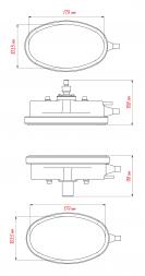 Сибек Эльф-П Вулканизатор грузовой с пневмоприводом