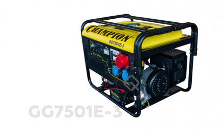 Генератор бензиновыфй CHAMPION GG7501E-3