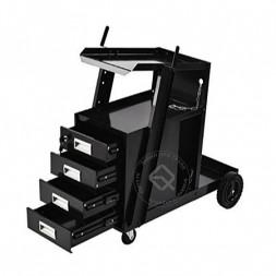 RedHotDot SA14003 Тележка с ящиками для сварочного оборудования и местом под 20-л газовый баллон