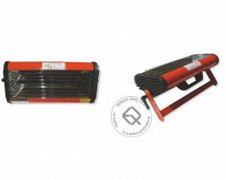 WiederKraft WDK-1W Однокассетная ИК сушка с механическим таймером  для ручного применения, 1 лампа Х 40см Х 1000 Вт, 220В