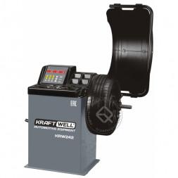 KraftWell KRW242 Балансировочный станок полуавтоматический с цифровым дисплеем