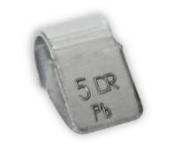 Dr.Reifen A-005 Грузик балансировочный для стальных дисков 5 г, упаковка 100 шт.