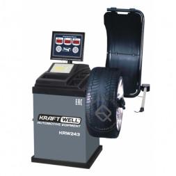 KraftWell KRW243 Балансировочный станок автоматический с цифровым дисплеем