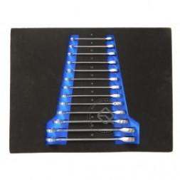 Forsage F-K51325 Набор ключей комбинированных трещоточных ложемент 13пр