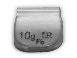 Dr.Reifen A-010 Грузик балансировочный для стальных дисков 10 г, упаковка 100 шт.