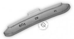Dr.Reifen A-060 Грузик балансировочный для стальных дисков 60 г, упаковка 40 шт.