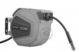 KraftWell KRW1731.C4 Катушка для раздачи воздуха/воды, закрытая пластиковая