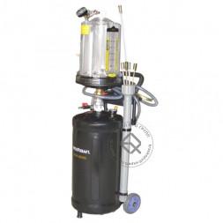 WiederKraft WDK-89290 Компактная установка для сбора отработанного масла 30л