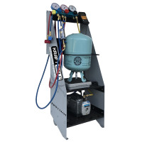 KraftWell KRW134AM Установка для заправки кондиционеров
