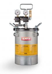 SATA paint set 10 Бак напорный 10 л с двойным регулятором давления