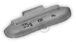 Dr.Reifen A-35 Грузик балансировочный для стальных дисков 35 г, упаковка 50 шт.