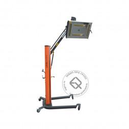 WiederKraft WDK-4CM Однокассетная мобильная ИК сушка 4 лампы Х 40см Х 1000Вт, 220В