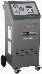 KraftWell KRW134ASA Станция полуавтоматическая для заправки автомобильных кондиционеров