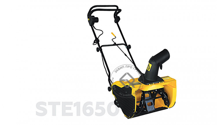 Снегоуборщик электрический CHAMPION STE1650