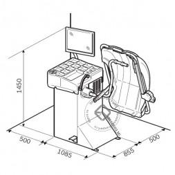 Sicam SBM V80 Балансировочный станок