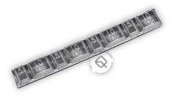 Dr.Reifen G-0061-50 Грузы самоклеящиеся свинцовые 15мм 60гр 4x5g-4x10g (50шт в упаковке)