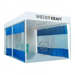 WiederKraft WDK-410M Зона подготовки с диагональным потоком воздуха с подогревом