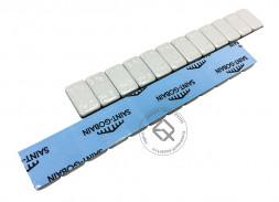 Dr.Reifen GP-0071 Грузы самоклеящиеся стальные с серым полимерным покрытием 5gX12 (50шт в упаковке)