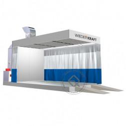 WiederKraft WDK-610M Зона подготовки на металлическом основании с подогревом