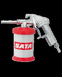 SATA 38141 SGE Пескоструйный пистолет с твердосплавным соплом и нижним бачком