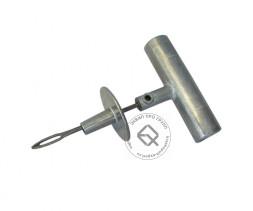 Dr.Reifen RT0002 Игла открытая с ограничителем, с металлическои ручкой