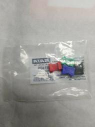 SATA 211409 CCS-зажим (4 шт: зелёный, синий, красный, чёрный)