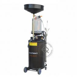 WiederKraft WDK-89380 установка для слива и откачки масла с предкамерой