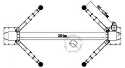 Atis A240XM Подъемник двухстоечный 4 т