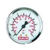 SATA 22046 Манометр 0-10 бар для фильтров серий 200, 300 и 400